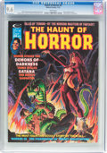 Magazines:Horror, The Haunt of Horror #5 (Curtis, 1975) CGC NM+ 9.6 White pages....