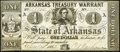 Obsoletes By State:Arkansas, (Little Rock), AR- State of Arkansas $1 Apr. 14, 1862 Cr. 30...