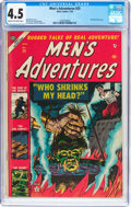 Golden Age (1938-1955):Horror, Men's Adventures #25 (Atlas, 1954) CGC VG+ 4.5 Cream to off-whitepages....