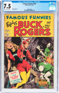 Golden Age (1938-1955):Science Fiction, Famous Funnies #209 (Eastern Color, 1953) CGC VF- 7.5 Cream tooff-white pages....