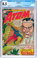 Silver Age (1956-1969):Superhero, The Atom #1 (DC, 1962) CGC VF+ 8.5 Cream to off-white pages....