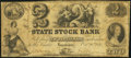 Obsoletes By State:Indiana, Logansport, IN- State Stock Bank $2 Oct. 20, 1852...
