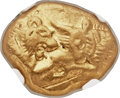 Ancients:Greek, Ancients: LYDIAN KINGDOM. Croesus (ca. 561-546 BC). AV stater(18mm, 10.72 gm)....