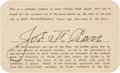 """Football Collectibles:Others, 1939 Joe Carr Signed Cincinnati Reds Season Pass from """"The Joe Carr Find."""" . ..."""