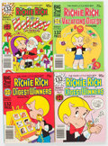 Bronze Age (1970-1979):Cartoon Character, Richie Rich and Casper-Related Comics Digests File Copies Box Lot(Harvey, 1970s-80s) Condition: Average NM-....