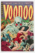 Golden Age (1938-1955):Horror, Voodoo #2 (Farrell, 1952) Condition: VG....