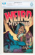 Golden Age (1938-1955):Horror, Weird Mysteries #1 (Gillmor, 1952) CBCS FN 6.0 Off-white pages....