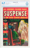 Golden Age (1938-1955):Horror, Suspense #25 (Atlas, 1952) CBCS FN+ 6.5 Off-white to whitepages....
