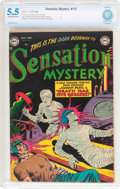 Golden Age (1938-1955):Horror, Sensation Mystery #112 (DC, 1952) CBCS FN- 5.5 Off-white to whitepages....
