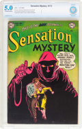 Golden Age (1938-1955):Horror, Sensation Mystery #113 (DC, 1953) CBCS VG/FN 5.0 Off-white to whitepages....