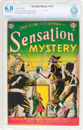 Golden Age (1938-1955):Horror, Sensation Mystery #116 (DC, 1953) CBCS FN 6.0 Off-white to whitepages....