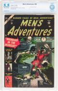 Golden Age (1938-1955):Horror, Men's Adventures #26 (Atlas, 1954) CBCS FN- 5.5 Off-white to whitepages....