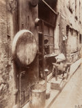 Photographs, Eugène Atget (French, 1857-1927). Rue de la Reynie, 1912. Gold-toned gelatin silver printing-out print. 8-3/4 x 6-3/4 in...