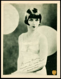 """Movie Posters:Miscellaneous, Louise Brooks (Paramount, Late 1920s). Promotional Lobby Card (11""""X 14""""). Miscellaneous.. ..."""
