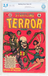 Startling Terror Tales #11 (Star Publications, 1952) CBCS GD+ 2.5 White pages