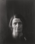 Photographs:Gelatin Silver, Arnold Newman (American, 1918-2006). Portrait of Ayn Rand, New York City, 1964. Gelatin silver. 9-5/8 x 6-3/4 inches (24...