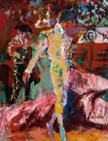 Fine Art - Painting, American:Contemporary   (1950 to present)  , LeRoy Neiman (American, 1921-2012). Matador, 1961. Oil oncanvas. 34-1/4 x 36 inches (87.0 x 91.4 cm). Signed and dated ...