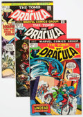 Bronze Age (1970-1979):Horror, Tomb of Dracula Group of 56 (Marvel, 1973-79) Condition: AverageVG+.... (Total: 56 Comic Books)