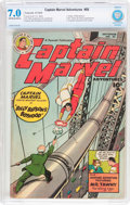 Golden Age (1938-1955):Superhero, Captain Marvel Adventures #88 (Fawcett Publications, 1948) CBCS FN/VF 7.0 Off-white to white pages....