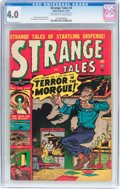 Golden Age (1938-1955):Horror, Strange Tales #4 (Atlas, 1951) CGC VG 4.0 Off-white to whitepages....