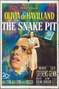 "Movie Posters:Drama, The Snake Pit (20th Century Fox, 1948). One Sheet (27"" X 41"").Drama.. ..."