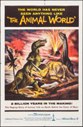 "Movie Posters:Documentary, The Animal World (Warner Brothers, 1956). Autographed One Sheet (27"" X 41""). Documentary.. ..."