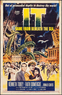 """It Came from Beneath the Sea (Columbia, 1955). One Sheet (27"""" X 41""""). Science Fiction"""