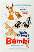 """Movie Posters:Animation, Bambi & Other Lot (RKO, 1942). One Sheets (2) (27"""" X 41"""").Animation.. ... (Total: 2 Items)"""