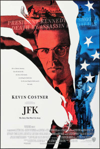 "JFK & Other Lot (Warner Brothers, 1991). One Sheets (2) (27"" X 40"" & 27"" X 41"") DS. Drama..."