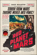 """Movie Posters:Science Fiction, Red Planet Mars (United Artists, 1952). One Sheet (27"""" X 41"""").Science Fiction.. ..."""