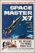 "Movie Posters:Science Fiction, Space Master X-7 (20th Century Fox, 1958). One Sheet (27"" X 41""). Science Fiction.. ..."
