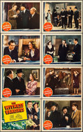 """Movie Posters:Crime, The Witness Vanishes (Universal, 1939). Lobby Card Set of 8 (11"""" X14""""). Crime.. ... (Total: 8 Items)"""