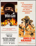 "Movie Posters:Adventure, The Wind and the Lion & Others Lot (MGM/UA, 1975). Inserts (5)(14"" X 36""). Adventure.. ... (Total: 5 Items)"
