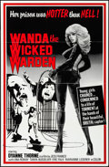 "Movie Posters:Exploitation, Wanda the Wicked Warden & Others Lot (Bernie Jacon, 1979). OneSheets (15) (27"" X 41""). Exploitation.. ... (Total: 15 Items)"