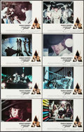 """Movie Posters:Science Fiction, A Clockwork Orange (Warner Brothers, 1971). Lobby Card Set of 8 (11"""" X 14""""). Science Fiction.. ... (Total: 8 Items)"""