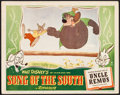 "Movie Posters:Animation, Song of the South (RKO, 1946). Lobby Card (11"" X 14""). Animation....."