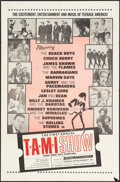 """Movie Posters:Rock and Roll, The T.A.M.I. Show (American International, 1964). One Sheet (27"""" X41""""). Rock and Roll.. ..."""