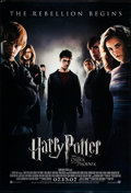 "Movie Posters:Fantasy, Harry Potter and the Order of the Phoenix (Warner Brothers, 2007).One Sheet (27"" X 40"") DS Advance. Fantasy.. ..."