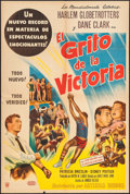 """Movie Posters:Sports, Go, Man, Go (United Artists, 1954). Argentinean Poster (29"""" X 43""""). Sports.. ..."""