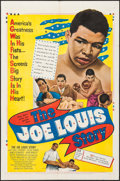 """Movie Posters:Sports, The Joe Louis Story (United Artists, 1953). One Sheet (27"""" X 41""""). Sports.. ..."""