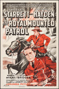 "Movie Posters:Adventure, The Royal Mounted Patrol & Other Lot (Columbia, 1941). OneSheets (2) (27"" X 41""). Adventure.. ... (Total: 2 Items)"