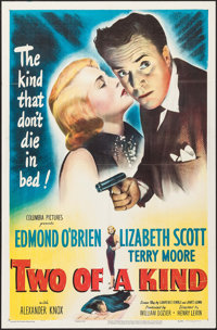"""Two of a Kind (Columbia, 1951). One Sheet (27"""" X 41""""). Crime"""