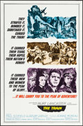 "Movie Posters:War, The Train (United Artists, 1965). One Sheet (27"" X 41"") Style A.War.. ..."