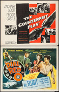 "Movie Posters:Crime, Dial Red O & Others Lot (Allied Artists, 1955). Half Sheet (7)(22"" X 28""). Crime.. ... (Total: 7 Items)"
