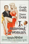 "Movie Posters:Comedy, I Married a Woman (RKO, 1958). One Sheet (27"" X 41""). Comedy.. ..."