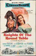 "Movie Posters:Adventure, Knights of the Round Table (MGM, 1953). One Sheets (3) Identical(27"" X 41""). Adventure.. ... (Total: 3 Items)"
