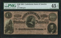 Confederate Notes:1864 Issues, T65 $100 1864 PF-1 Cr. 490.. ...