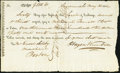 Miscellaneous:Checks, Savannah, GA- First of Exchange $1,310.61 May 30, 1812...