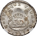 Mexico, Mexico: Philip V 4 Reales 1735 Mo-MF AU Details (Surface Hairlines)NGC,...