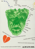 Prints, Jim Dine (American, b. 1935). Wall, 1967. Screenprint in colors with photo-etching and embossing on Crisbrook handmade p...